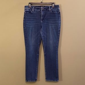 Talbots Flawless 5pockets,straight denim jeans 10P